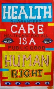 Health Care is a Human Right Sign